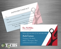 Business Cards | Copyright TeCHS 2017