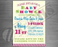 Baby Shower Invitation | Copyright TeCHS 2017