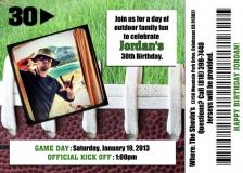 30th Birthday Party Invitation | Copyright TeCHS