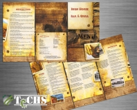 Restaurant Menu | Copyright TeCHS