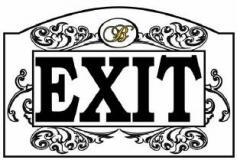 Door Sign | Copyright TeCHS
