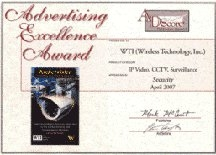 Advertisement Excellence Award | Copyright TeCHS