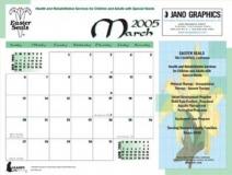 Calendar Page | Copyright TeCHS
