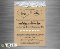 Wedding Invitation  | Copyright TeCHS 2018