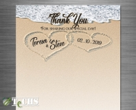 Wedding Thank You Card  | Copyright TeCHS 2018