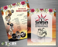2018 Salsa Bachata Extravaganza Schedule of Events | Copyright TeCHS 2018
