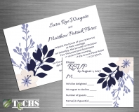 Wedding Invitation & RSVP | Copyright TeCHS 2017