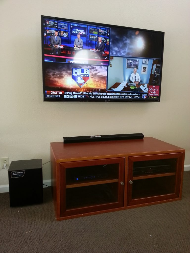 New TV and Soundbar Installation | TeCHS