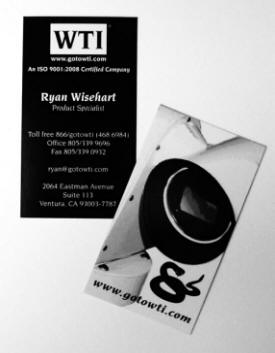 Business Card Design | TeCHS
