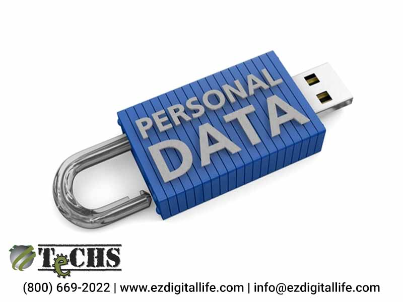 secure your personal data