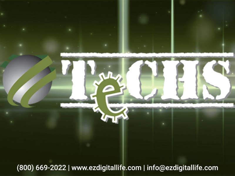 techs company logo