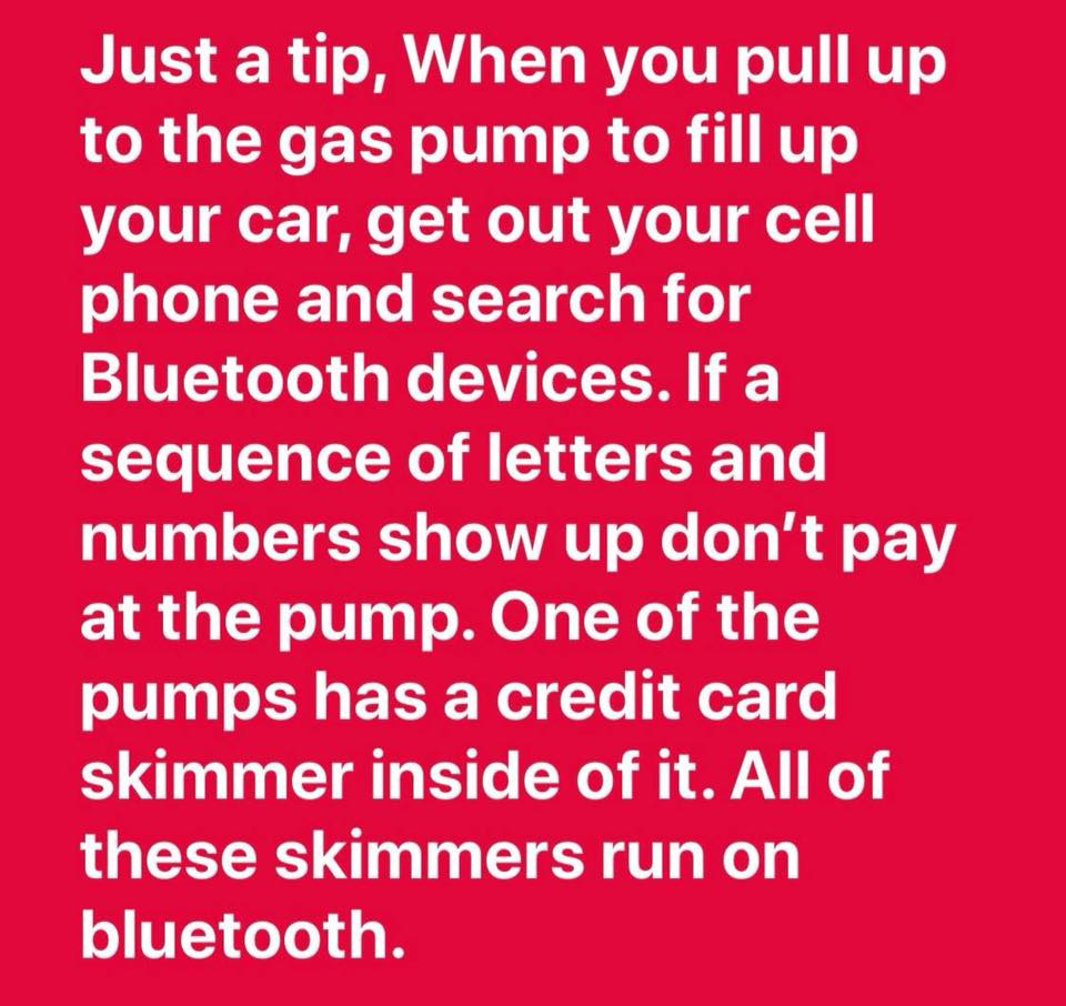 cell phone skimmer tip