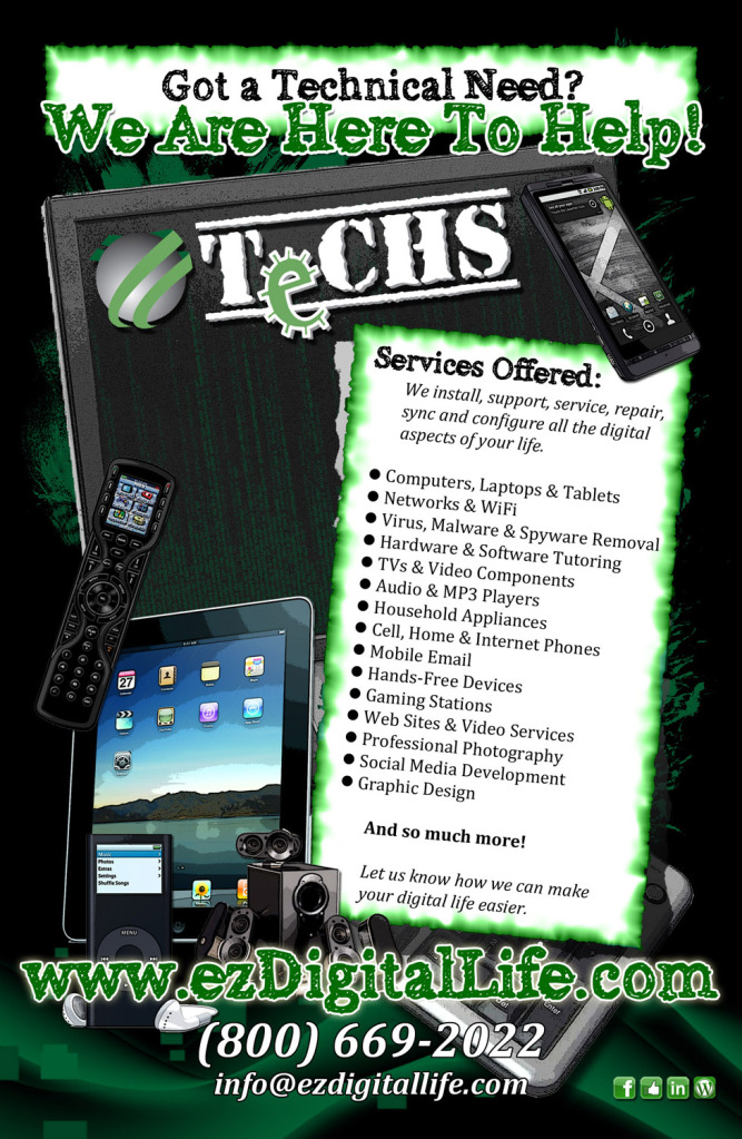Flyer | TeCHS | ezdigitallife.com