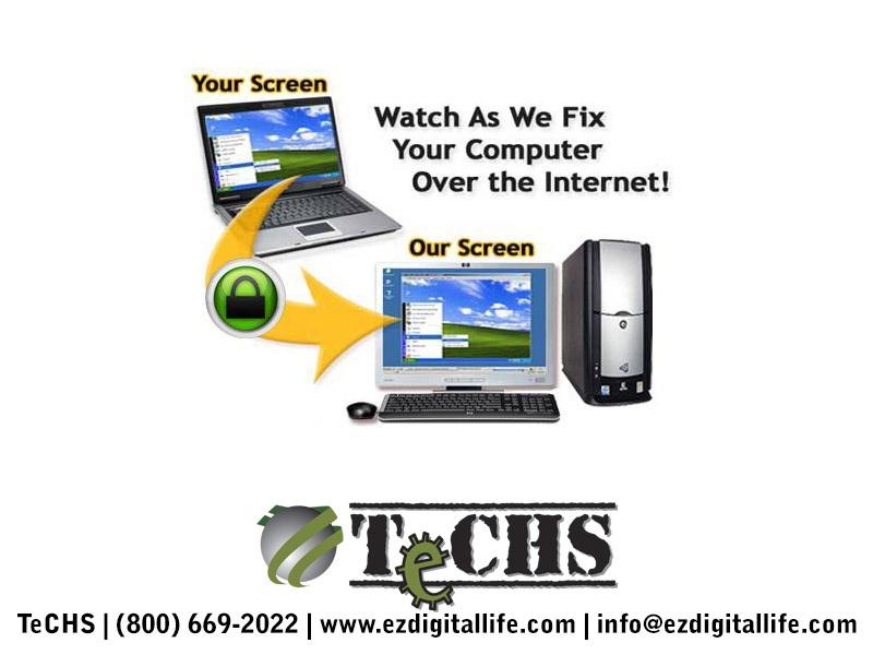remote computer repair services